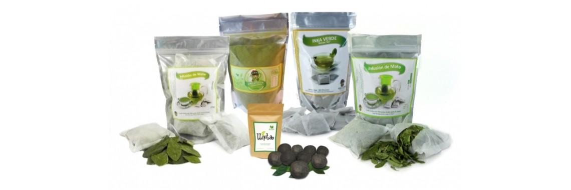coca tea products